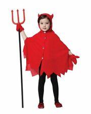 Lovely Red Devil Girl Cosplay Halloween Costume 4T-5T