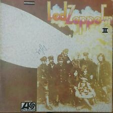 LED ZEPPELIN II - AUTOGRAFATO - VINILE 33 GIRI - ITALIA 1971 - LP ALBUM