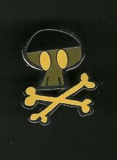 Pirate Skull and Crossbones - Yellow -  Splendid Walt Disney Pin