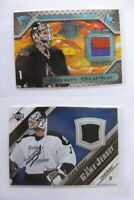 2005-06 Upper Deck J2-SB Sean Burke  black game jersey lightning