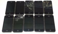 Lot of 10 Apple iPhone 3G 8GB Black AT&T Smartphone ALL POWER UP ONLY