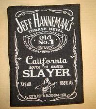 JEFF HANNEMAN - LOGO Embroidered PATCH SLAYER