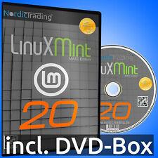 NEU: Linux Mint 20.2 MATE DVD Betriebssystem Markenware