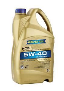 RAVENOL Hydrocrack Synth. HCS 5W-40 5 L
