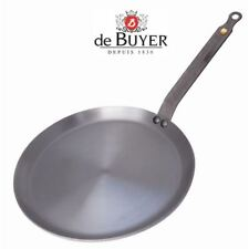 De Buyer Mineral B Element Induction Crepe Browning Grilling Pan 24cm -  5615.24