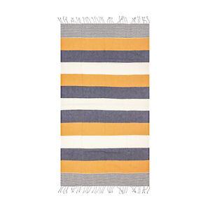 Lightweight Colorful Beach Towel | 100% Turkish Cotton Absorbent Beach Blanket