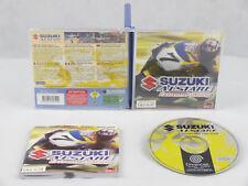 Sega Dreamcast Suzuki Alstare Extreme Racing Complete PAL