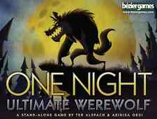 One Night Ultimate Werewolf Family Party Game Bezier Games BEZONUW Halloween