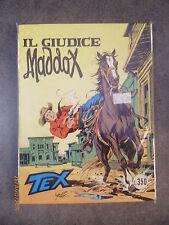 TEX n° 185 IL GIUDICE MADDOX - ORIGINALE - OTTIMO!