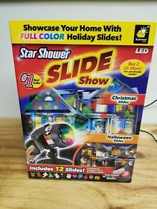 Star Shower Slide Show Projection Kit - Includes 12 Slides (Full Color Holiday)