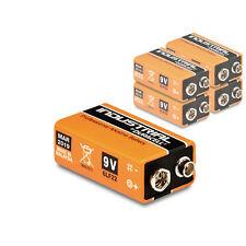 5 x Duracell 9V Block Industrial Batterie 6LR61 MN1604 E-Block Alkaline 5 Stück
