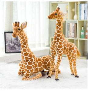 Big Plush Giraffe Toy Doll Giant Large Stuffed Animal Soft For Kid Gift 50cm