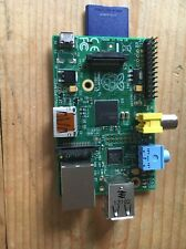 Raspberry Pi Model B Rev 2.0 with Memory Card