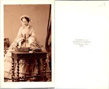 CDV Disdéri, Paris, Impératrice Eugénie, épouse de Napoléon III, circa 1860 Vint