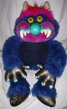 "VINTAGE 1985 AMTOY American Greetings 27"" My Pet Monster Plush Stuffed Animal"