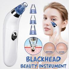 Electric Blackhead Vacuum Suction Acne Remover Face Pimple Pore Comedone + Head