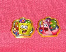 SpngeBob,Patrick,(bubble)Plastic Cupcake Party Favor Rings,Yellow,DecoPac.