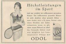 Y4926 Zahnpasta ODOL - Illustrazione - Pubblicità d'epoca - 1927 Old advertising