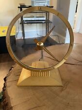 VINTAGE 1980'S JEFFERSON GOLDEN HOUR MYSTERY CLOCK MODEL 580-101 PARTS/ REPAIR