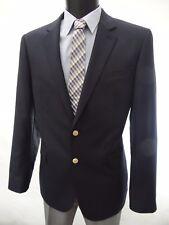 JAEGER Navy Blue Blazer Jacket Gold Buttons 44L rrp £275 BNWT