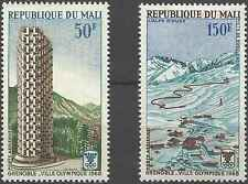 Timbres Sports d'hiver JO Mali PA53/4 * lot 3483