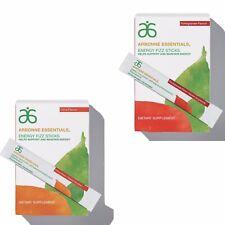 Arbonne 2 x Boxes Energy Fizz Sticks Citrus & Pomegranate ARBN