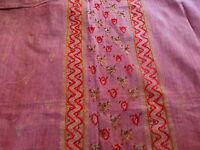 tissus neuf 4m,80x1,10 sari ou tenture murale =loisirs créatifs,couture
