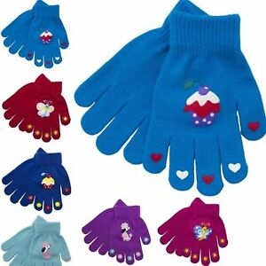 Thermal Magic Stretch Gripper Gloves Childrens/Boys/Girls//Kids One Size