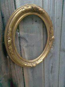 """Antique Gold Leaf Wall hanging Picture Frame, 13"""" × 1-1/4"""" × 10-3/4"""" WOOD"""