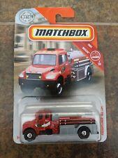 Matchbox MBX 2019 Rescue Freightliner M2 106 Fire Truck First Responder Engine