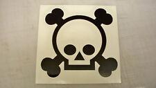 Grenade Gloves cráneo Decal Sticker