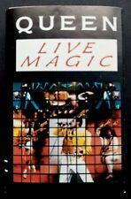 Queen Live Magic Espagne Cassette Emi 1986
