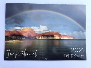 2021 Calendar Rectangle Wall Calendar 16 Months Calendar- Inspirational