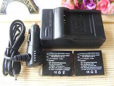 2X Battery for Fujifilm NP-70 FinePix F20 F20 Zoom F40fd F45fd F47fd + Charager