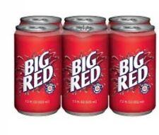 12❤️Big Red | ❤️Soft Drink | ❤️❤️7.5 fl. oz (12 Little Cans) Soda Water