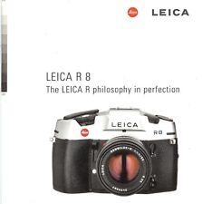 1997 LEICA R8 35mm SLR CAMERA BROCHURE -LEICA R8--from 1997