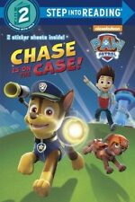 Paw Patrol Chase is on the Case! Step Into Reading Level 2 Paperback w/stickers