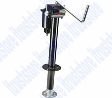 12v DC ELECTRIC CRANKING TRAILER LIFT JACK TONGUE STAND ADJUSTABLE FOOT 3500 LBS