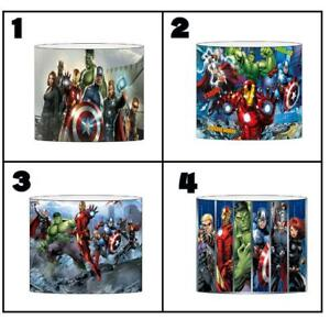 """MARVEL AVENGERS Ceiling Light Shade Lampshade 8""""/20cm in 4 DESIGNS FREE POST"""