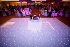 White LED Dance Floor Hire 12 x 12ft £300 including delivery! Black or White