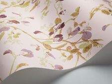 COLE & SON COLLECTION OF FLOWERS SWEET PEA WALLPAPER 81/11047 COLOUR PINK