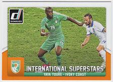 YAYA TOURE 2015 Donruss Soccer International Superstars #57 Ivory Coast