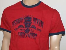 LUCKY BRAND Highway Horror T Shirt Red NWT NWOT