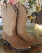 Boulet Suede Cowboy Boots Western Women's size 7 NEW