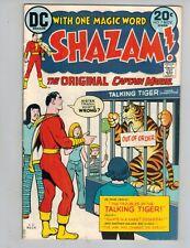 Shazam! #7  The Original Captain Marvel w/ Mr Tawny from 1973 Nice F/VF!
