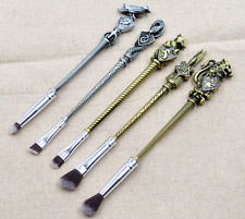 US NEW 5PCS Harry Potter Wizard Wand Make Up Brushes Magic Collection Gift