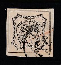 FRANCOBOLLI - 1852 STATO PONTIFICIO 8 BAJ Z/8595