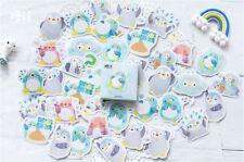 1 Box Funny Penguin Sticker / Bag Sealer / Scrapbook DIY Album Decor