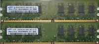 4GB 2x2GB DDR2 PC2-6400 6400U DDR2-800 MHZ MEMORY DIMM PC DESKTOP RAM 240 PIN