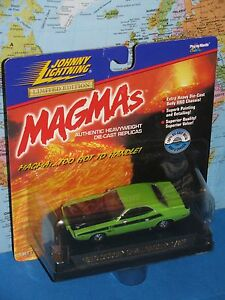 1/43 JOHNNY LIGHTNING MAGMAS 1970 DODGE CHALLENGER T/A LIMITED EDITION OLD STOCK